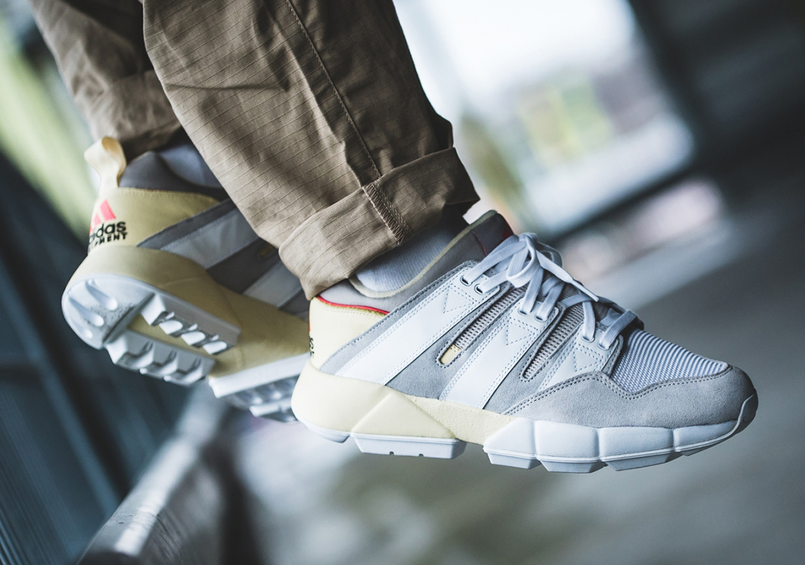 super popular 50a39 869d6 The adidas EQT Cushion 2 Makes Its Return With Pre-Yellowed Soles