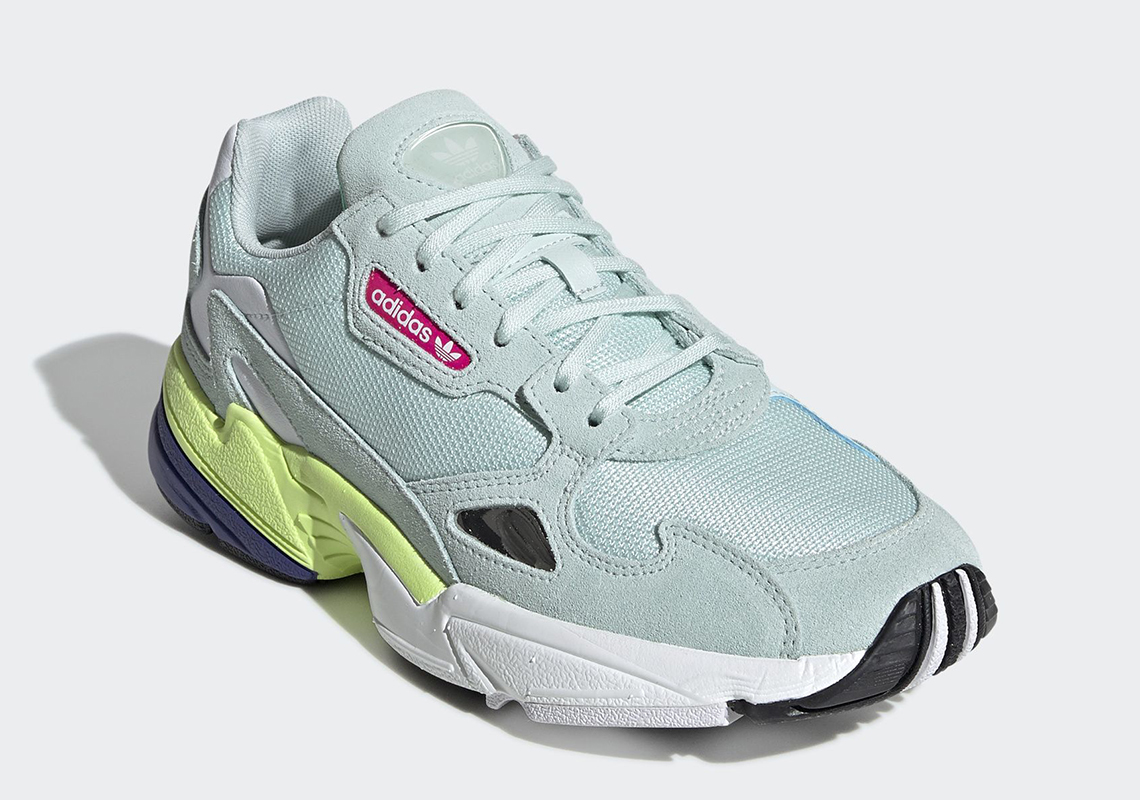 adidas Falcon Ice Mint CG6218 Release Date | SneakerNews.com