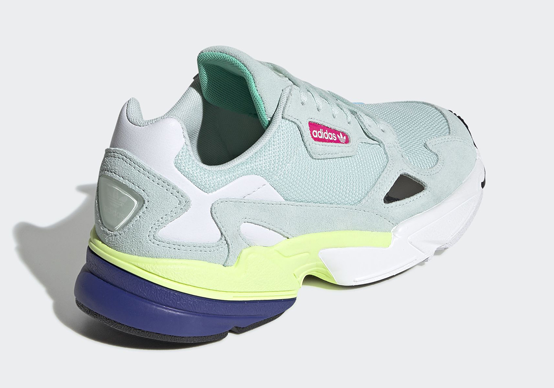 d17aaaf9d21 adidas Falcon Ice Mint CG6218 Release Date | SneakerNews.com