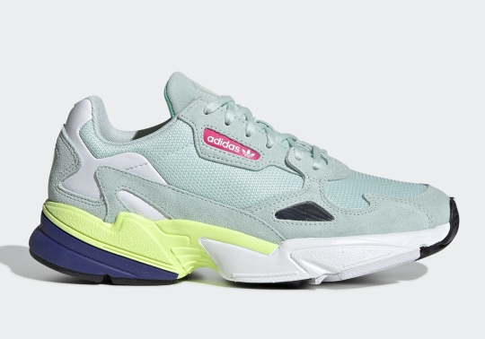 """The adidas Falcon """"Ice Mint"""" Releases On April 11th"""