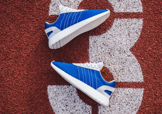 The adidas I-5923 Returns With Blue Nylon Uppers