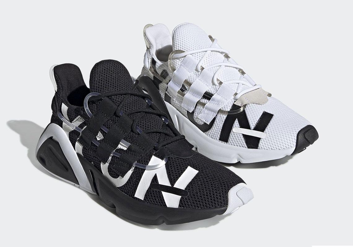 a7016522d71ff adidas LXCON Black White EG7535 + EG7536