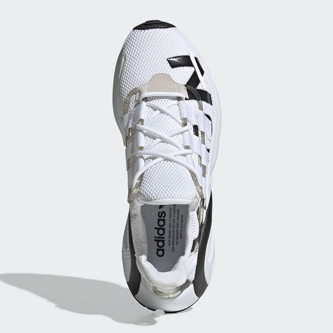 sports shoes 08a93 a5e26 adidas LXCON Black White EG7535 + EG7536   SneakerNews.com