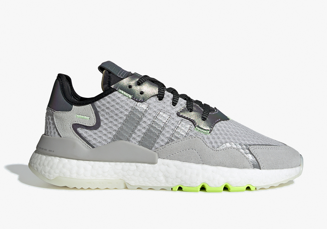adidas Nite Jogger Grey Silver Volt EF5839 Release Date