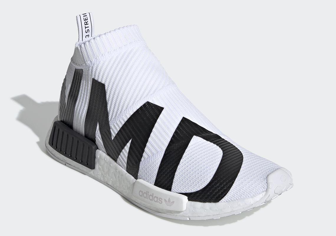 4699fc1c7652 adidas NMD City Sock White Black EG7538 Release Date