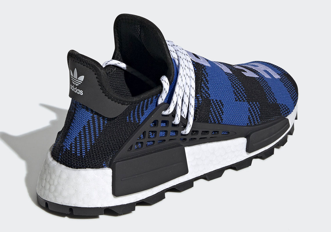 black and blue nmds