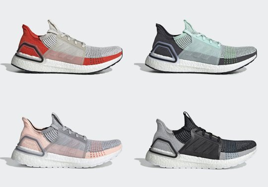 The adidas Ultra Boost 2019 Returns In An Assortment Of Spring/Summer Colorways