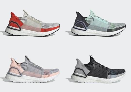 3cc98235142 The adidas Ultra Boost 2019 Returns In An Assortment Of Spring Summer  Colorways