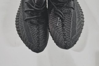 00bf429cdc4 First Look At The Black adidas Yeezy Boost 350 v2
