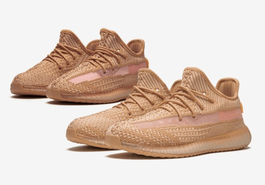 "adidas Yeezy Boost 350 v2 ""Clay"" Restocking In Little Kids And Toddler Sizes"