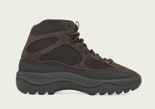 """The adidas Yeezy Desert Boot """"Oil"""" Releases On April 20th"""