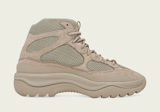 The adidas Yeezy Desert Boot Rock Releases On April 13th