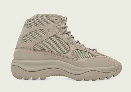 """Official Store List For The adidas Yeezy Desert Boot """"Rock"""""""