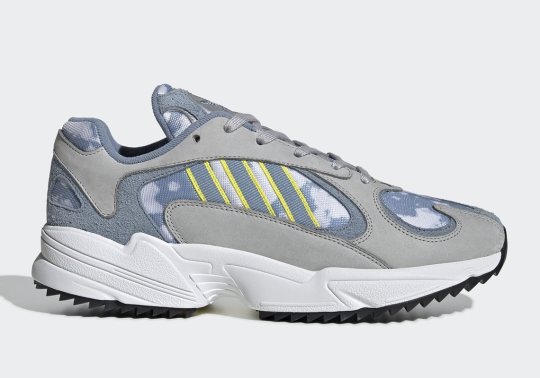This adidas Yung-1 Adds Cloud Formations On The Upper