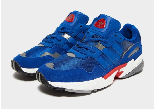 The adidas Yung-96 Arrives In A Sporty Blue And Red