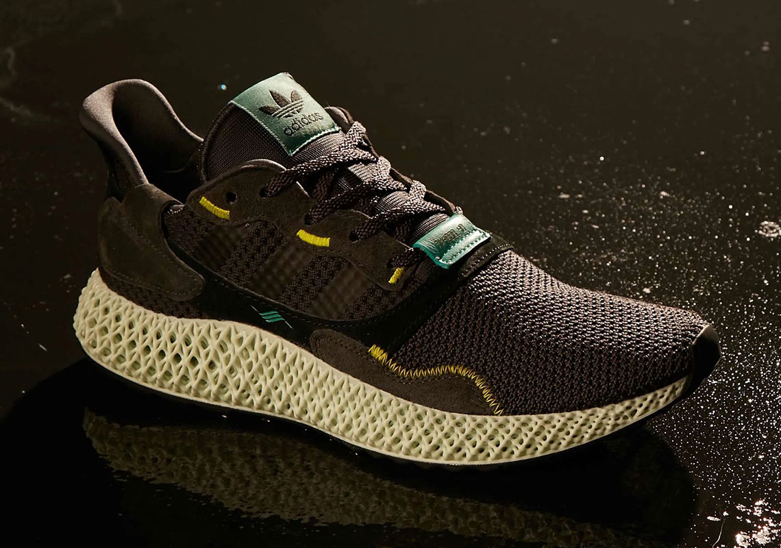 "newest 80f00 152e4 The adidas ZX4000 4D ""Carbon"" Releases This Saturday"