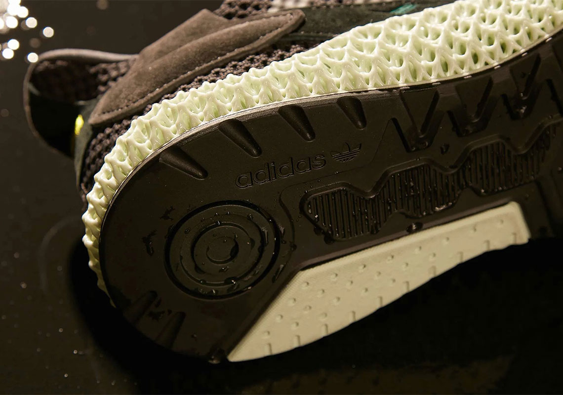 """Adidas ZX4000 4D """"Carbon"""" New s & Release Information"""