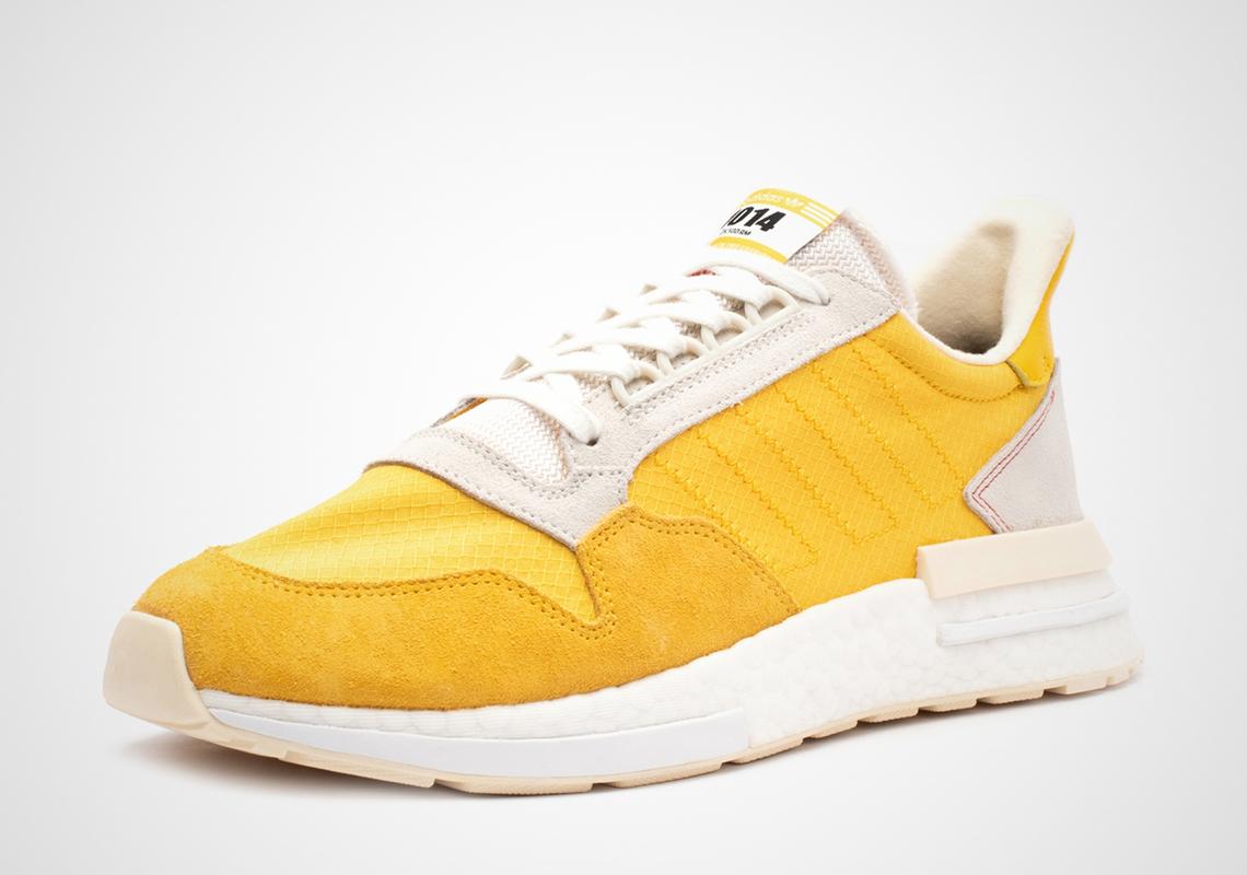 neumático en un día festivo déficit  adidas ZX 500 RM Yellow White CG6860 Release Info | SneakerNews.com