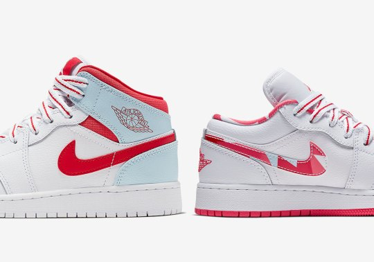 """Air Jordan 1 """"Ice Blue"""" Pack Releasing Soon Exclusively For Girls"""