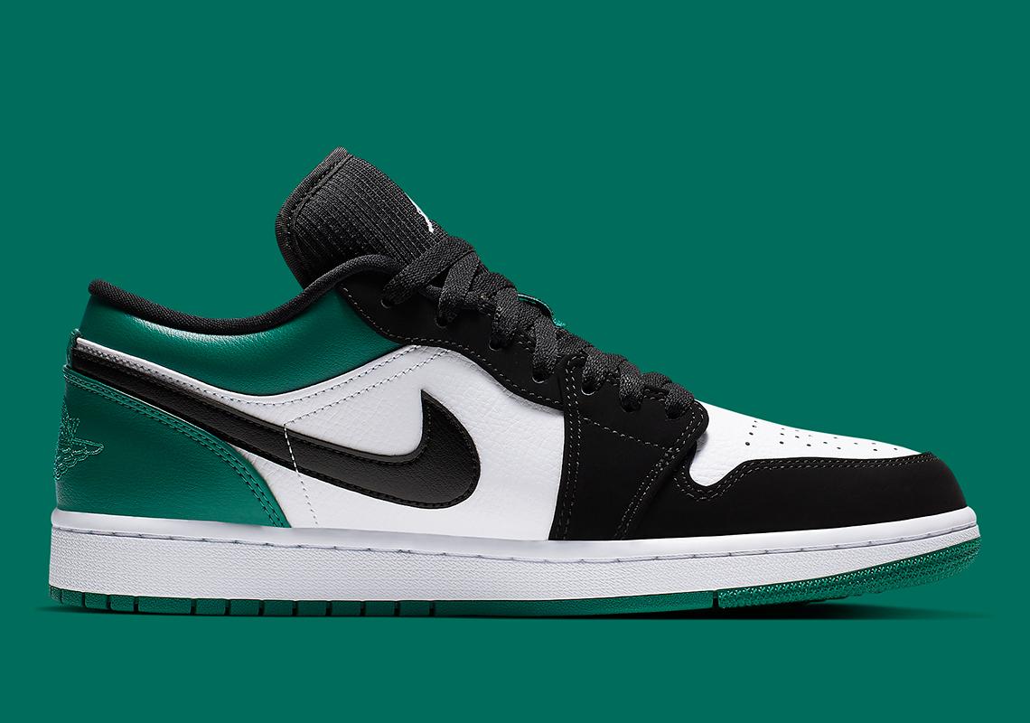 Jordan 1 Low Mystic Green 553558-113 Store List | SneakerNews.com