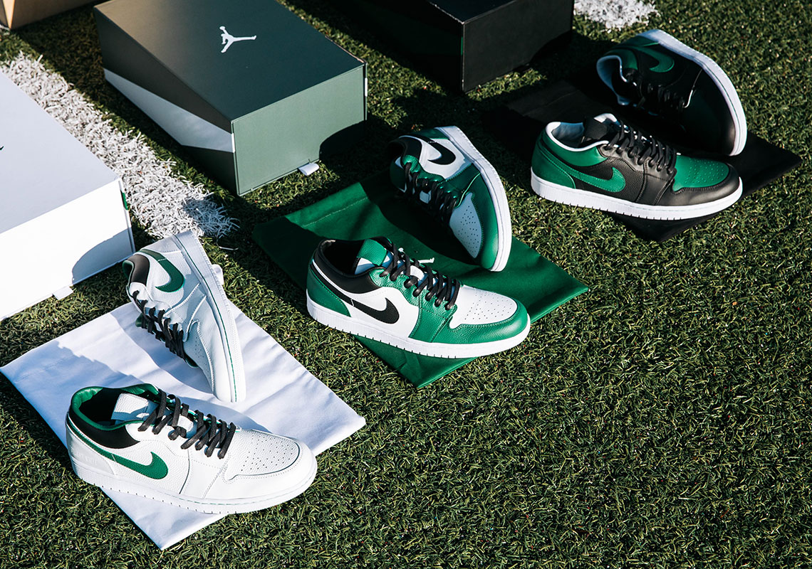 927bd50545707b Jordan Brand And The New York Jets Commemorate New Uniforms With A Trio Of Air  Jordan 1 Low PEs