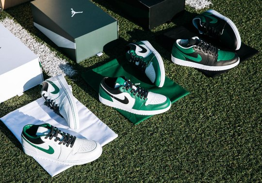 Jordan Brand And The New York Jets Commemorate New Uniforms With A Trio Of Air Jordan 1 Low PEs