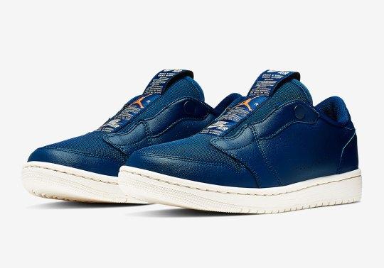 """The Air Jordan 1 Low Slip Returns In """"Blue Void"""""""