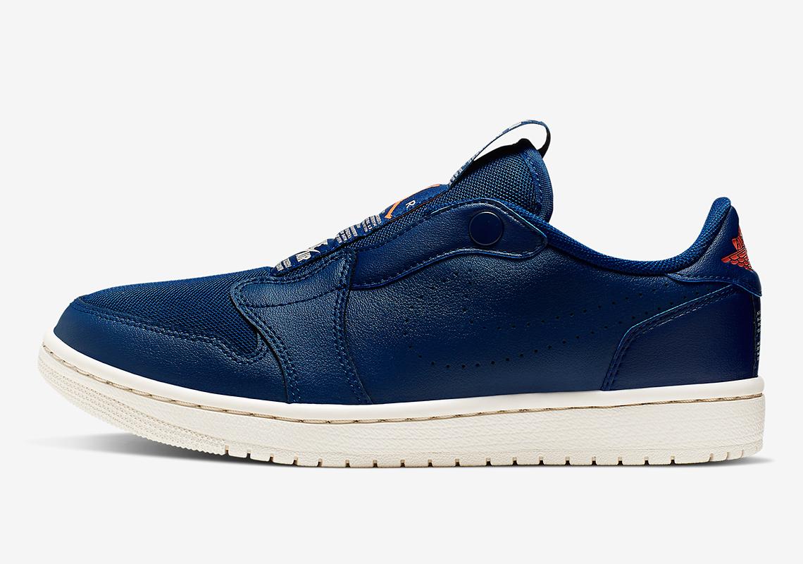 fde11a34c99f Air Jordan 1 Low Slip Blue Void AV3918-408 Info