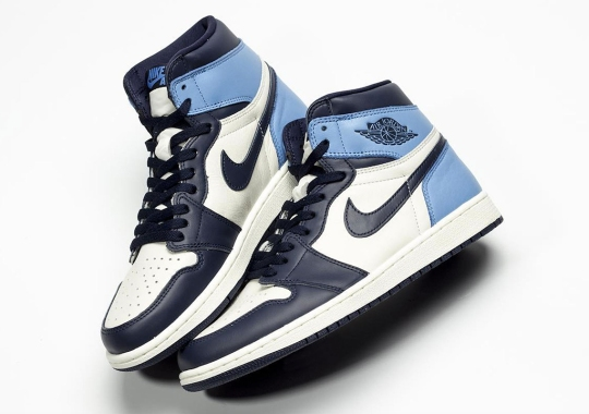 "bbea2f46e9569f Detailed Look At The Air Jordan 1 Retro High OG ""UNC"""