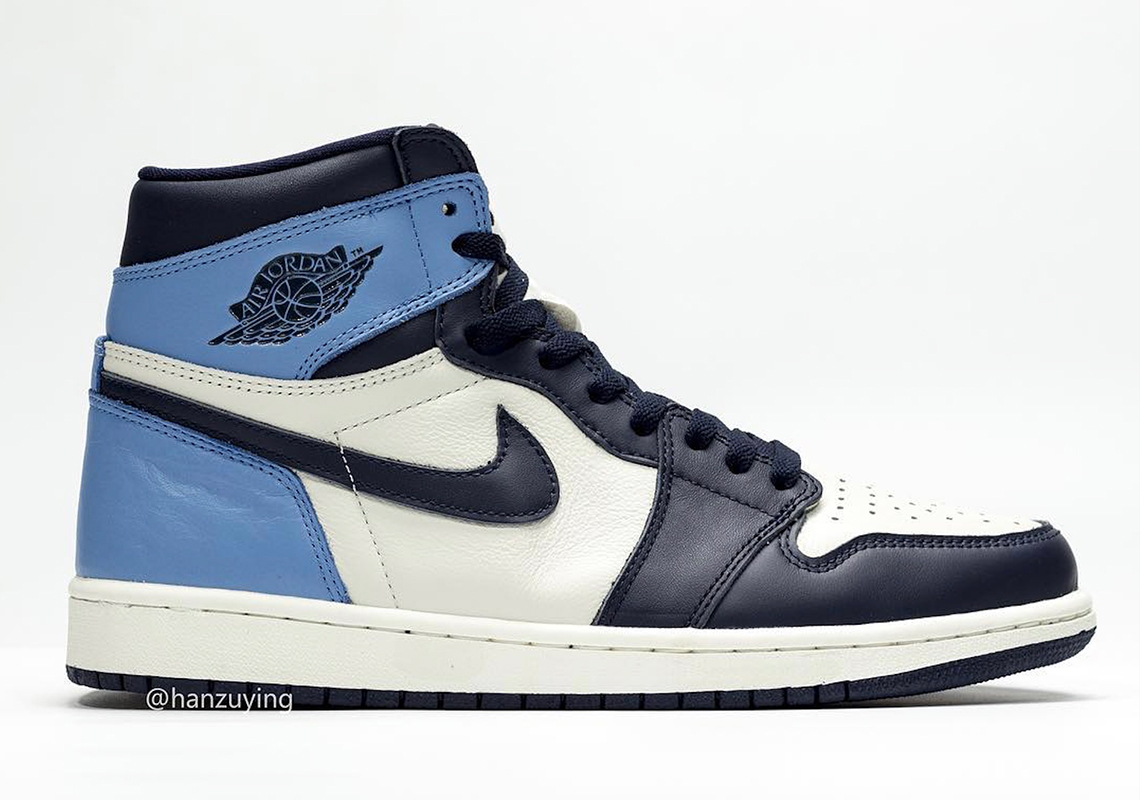 "a09998eaded455 Air Jordan 1 Retro High OG ""UNC"" Release Date  August 17th"