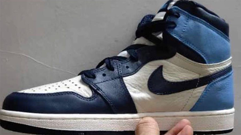 "6d7c521a4a416c Air Jordan 1 ""UNC"" In Leather Poised For An August Release"