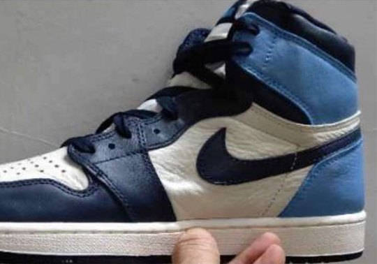 "Air Jordan 1 ""UNC"" In Leather Poised For An August Release"