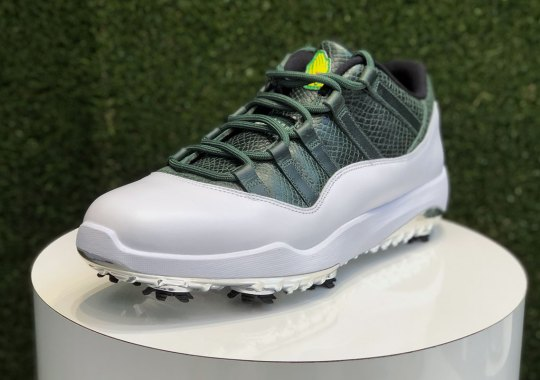 "An Air Jordan 11 Low Golf ""Masters"" Is Releasing On April 12th"