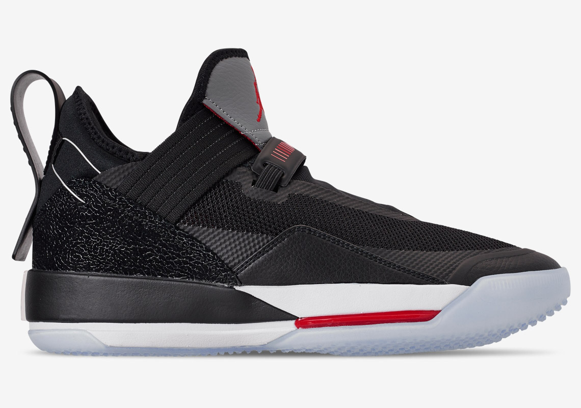 "be4df8f07fb19f The Air Jordan 33 Low ""Black Cement"" Drops On May 3rd"