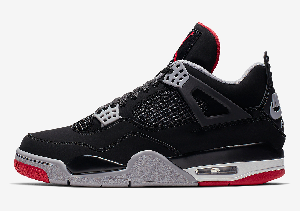 newest 7758f 0f483 Air Jordan 4 Bred - 2019 Release Guide + Store List   SneakerNews.com