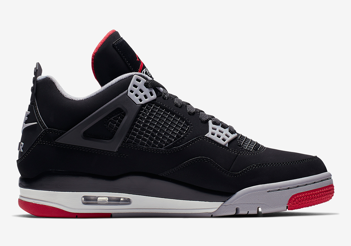 newest 9c7d1 63d85 Air Jordan 4 Bred - 2019 Release Guide + Store List   SneakerNews.com