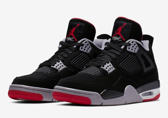 "Official Images Of The Air Jordan 4 ""Bred"""