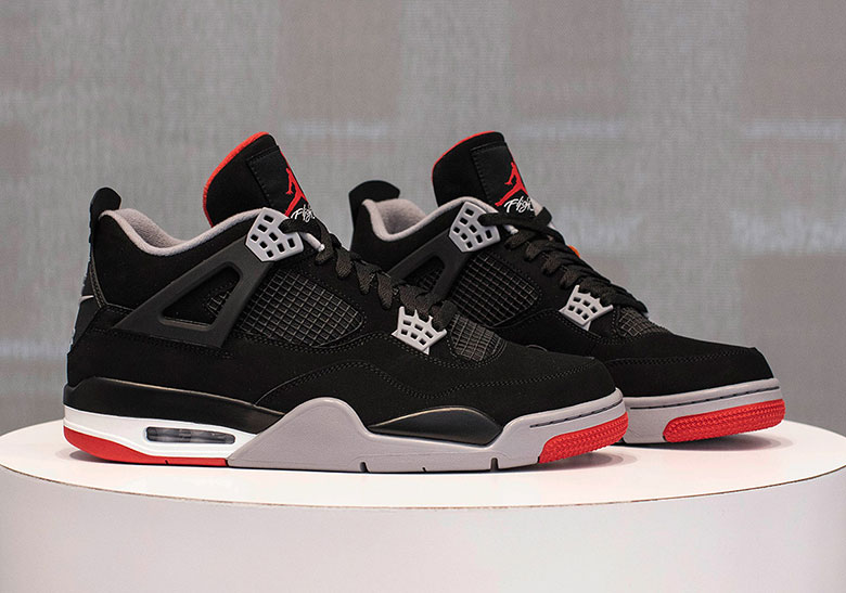 """promo code 9fb7c 6b154 Detailed Look At The Air Jordan 4 Retro """"Bred"""" Your best look yet at the  highly-anticipated retro release, dropping May 4th."""