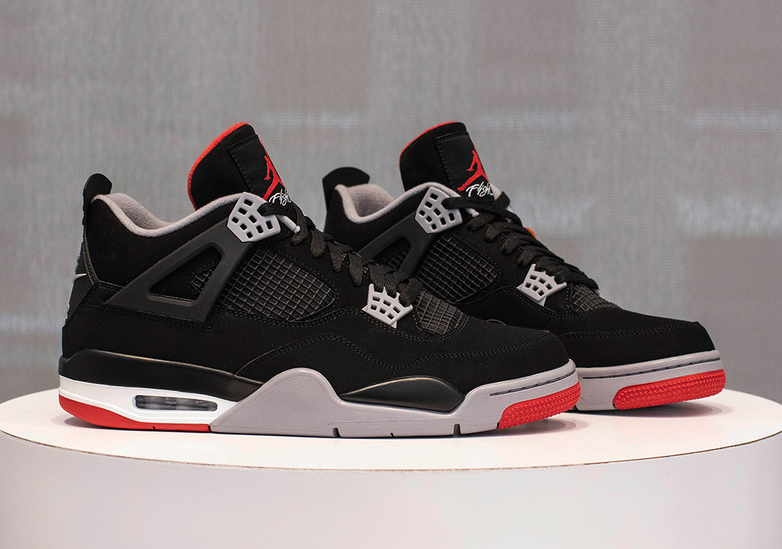 636698f61d2 Jordan 4 Bred 2019 - Where To Buy (Store List) | SneakerNews.com