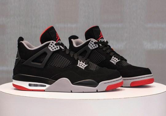 "Where To Buy The Air Jordan 4 ""Bred"""