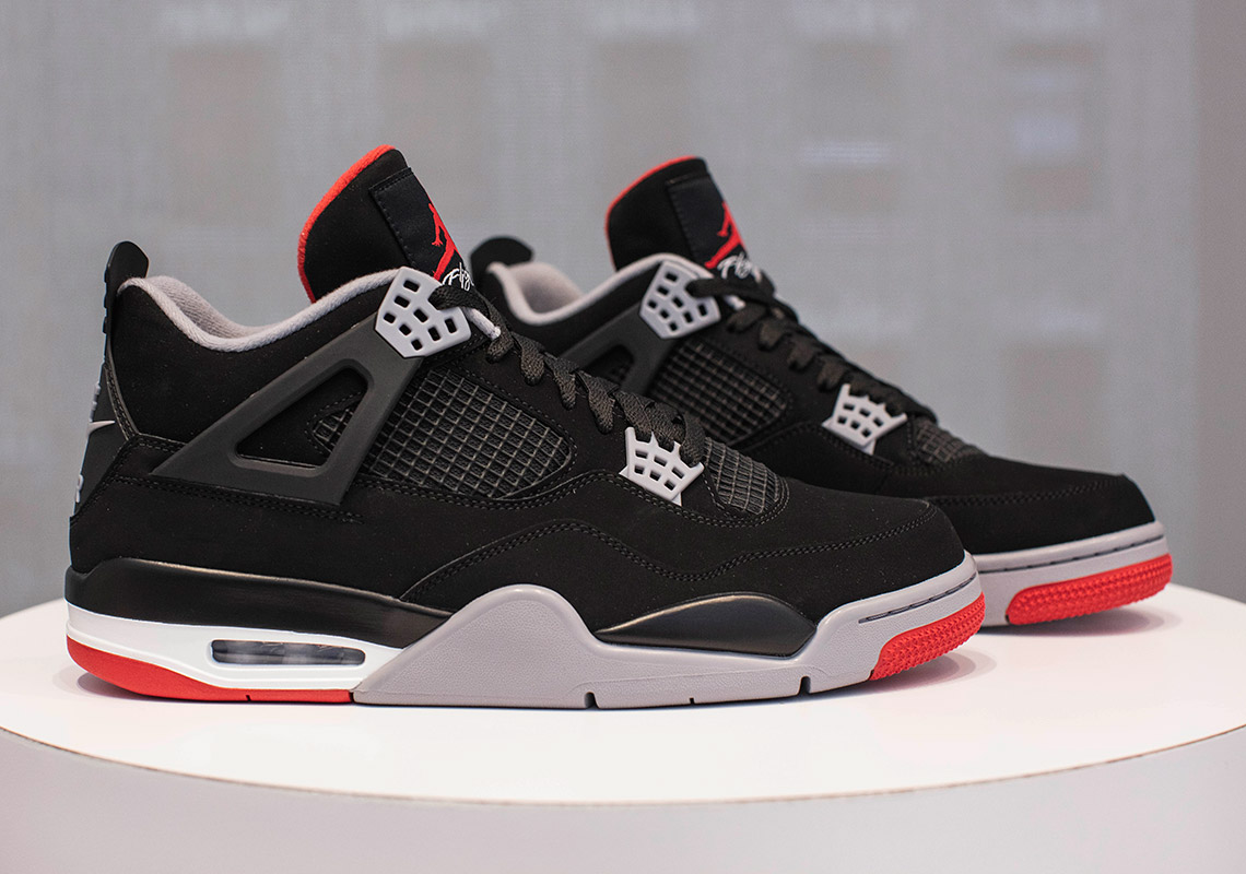 a540b411a29 Jordan 4 Bred 2019 - Where To Buy (Store List) | SneakerNews.com