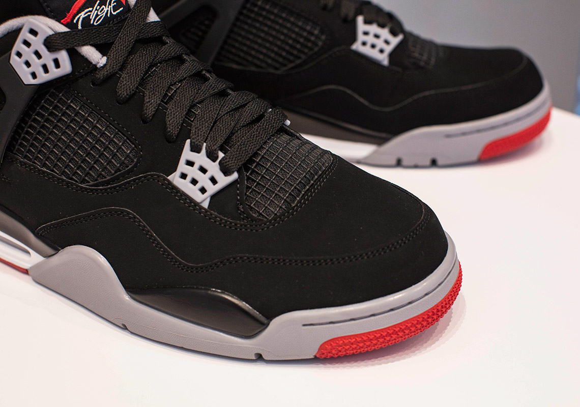 size 40 b9862 4f422 Jordan 4 Bred 2019 - Where To Buy (Store List)   SneakerNews.com