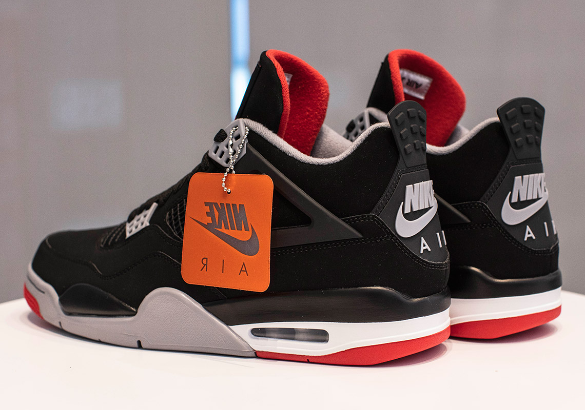 sexo vacunación Desventaja  Jordan 4 Bred 2019 - Where To Buy (Store List) | SneakerNews.com