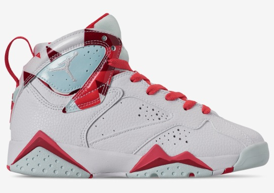 "Air Jordan 7 ""Topaz Mist"" For Girls Releases On May 18th"