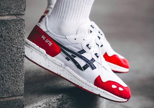 """The ASICS HYPERGEL-Lite Appears In Afew's """"KOI"""" Colorway"""
