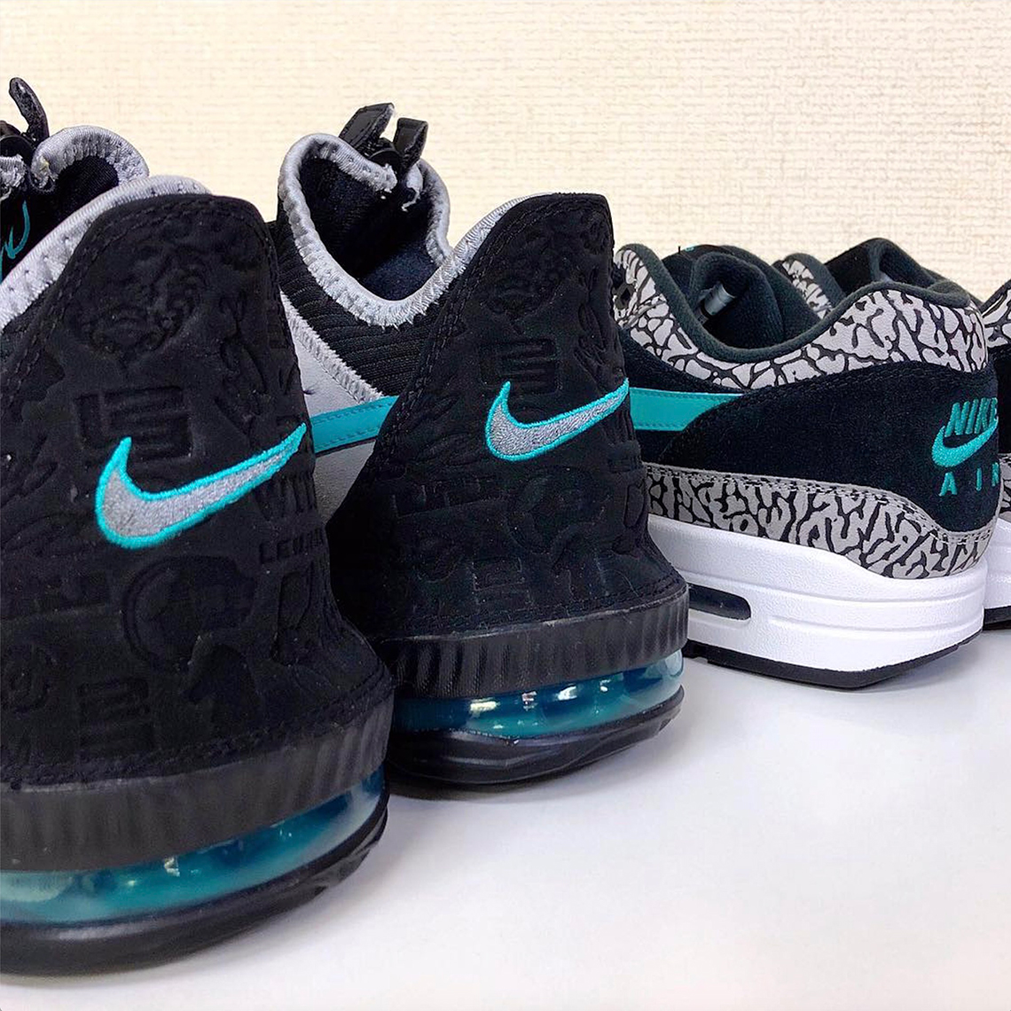 """separation shoes de46e 8c06d atmos Teases Release Of The Nike LeBron 16 Low """"Clear Jade"""""""