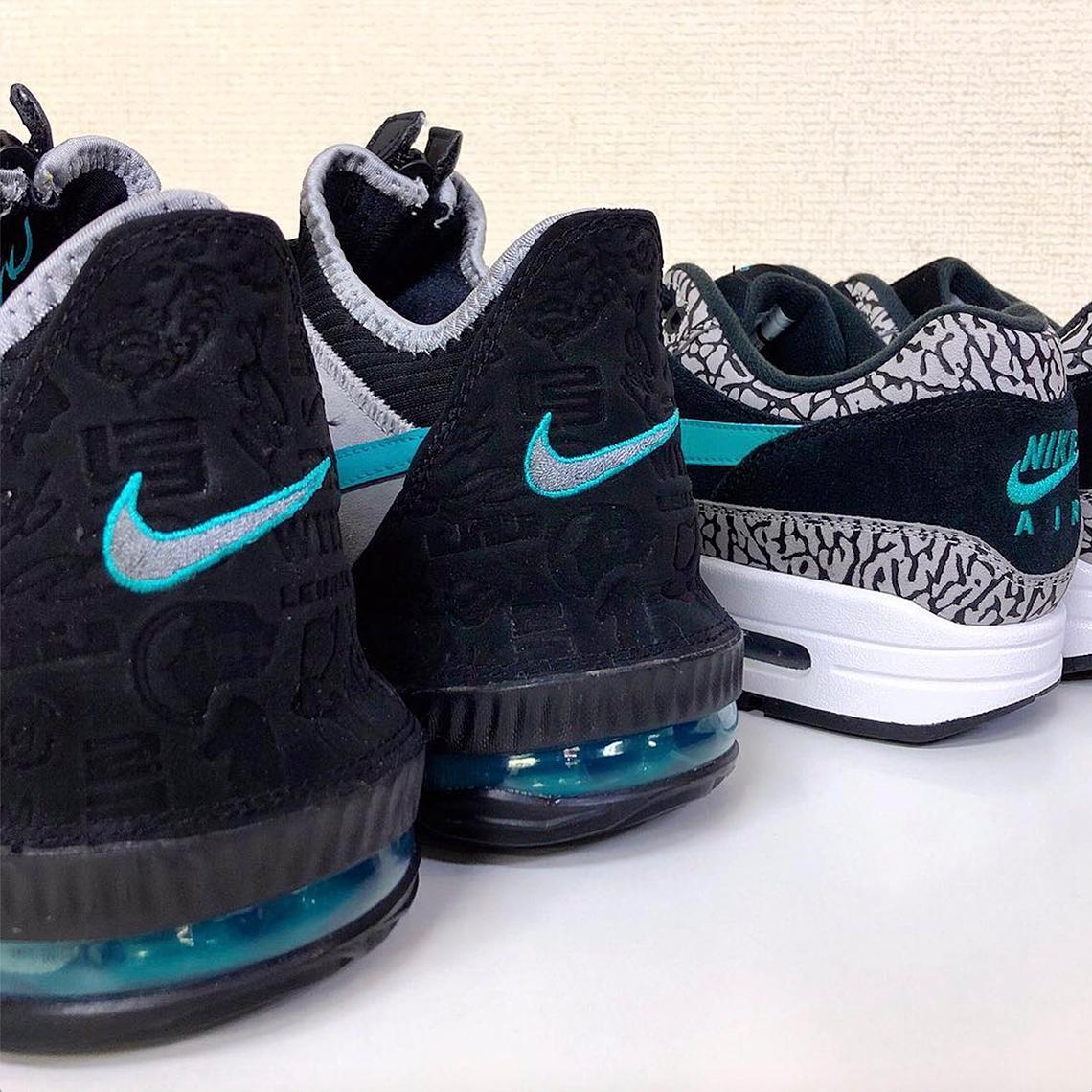 hot sale online 95b5d e138a atmos Nike LeBron 16 Low Clear Jade CD9471-003 | SneakerNews.com