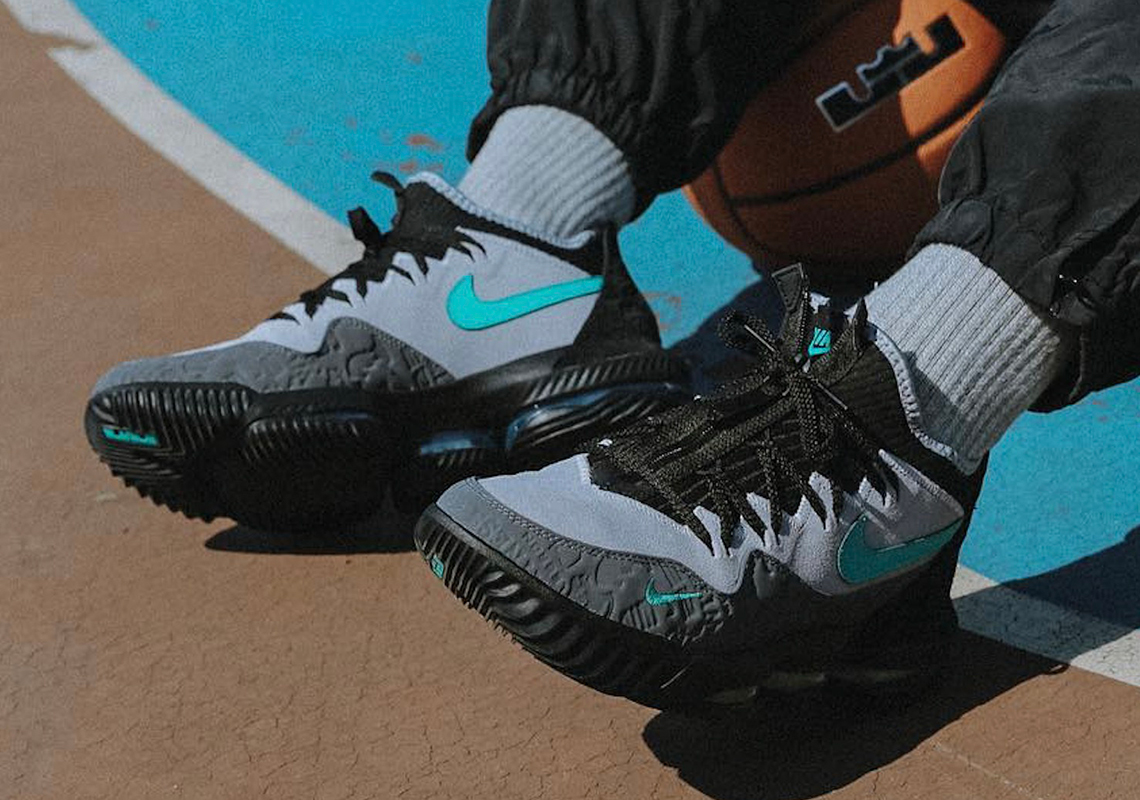 """quality design 71d78 2d393 atmos x Nike LeBron 16 Low """"Clear Jade"""" Releasing This Saturday"""