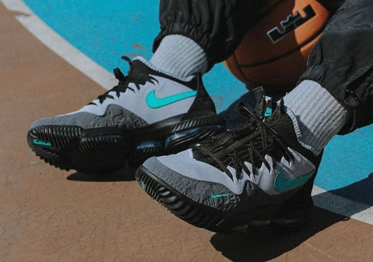 "atmos x Nike LeBron 16 Low ""Clear Jade"" Releasing This Saturday"