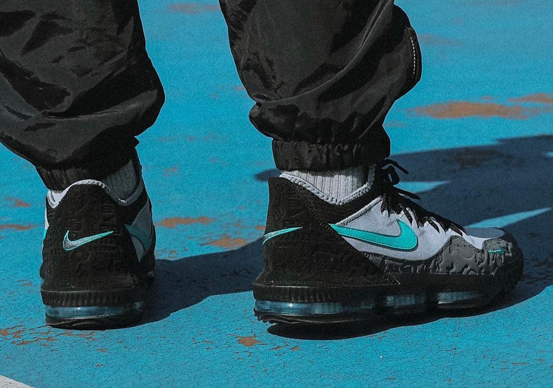 factory price 6baca bae74 atmos Nike LeBron 16 Low Clear Jade Release Date   SneakerNews.com